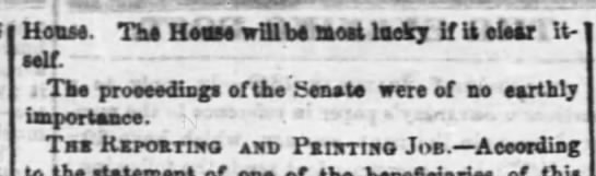18481228b-eveningpost - House. The H ease will be most lucky If ii eUar...