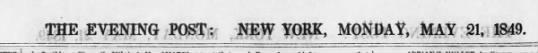 - THE EVENING -POST:- -POST:- -POST:- NEW YORK,...