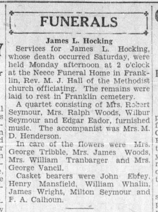 Jacksonville Daily Journal 25 Nov 1930 page 14