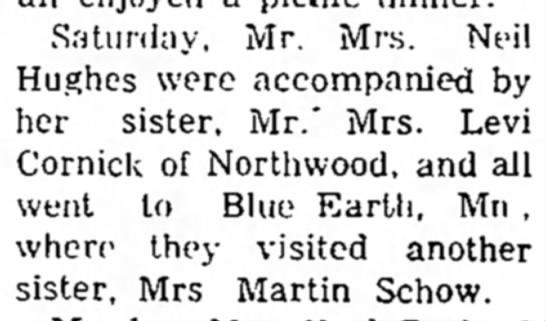 martin schow wife family??