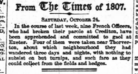 24 October 1807 - Prom Cftt Ctmcg of 1807. Satttssat, Octobes 24....