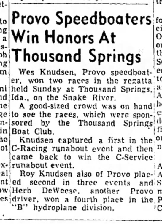 Daily Herald Aug 19, 1953