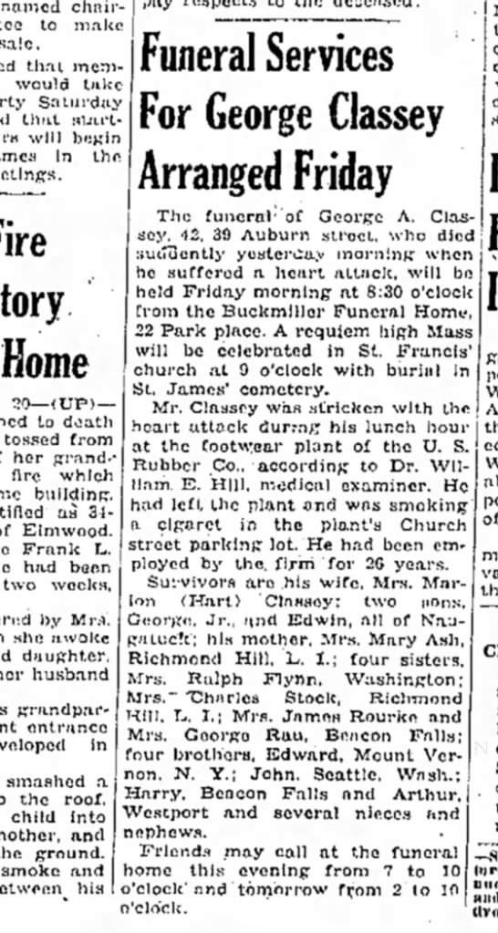 Naugatuck daily 1948 - named chnir- to make sale. thai members would...