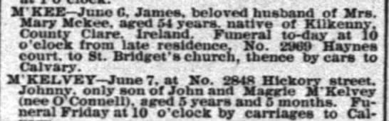 - M K EE June 0. James, beloved husband of Mrs....