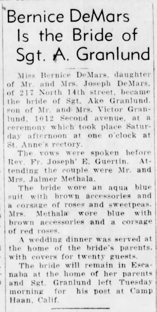 Escanaba Daily Press