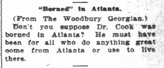 20 Sep 1909 Woodbury - (From The Woodbury Georgian.) Don't you suppose...