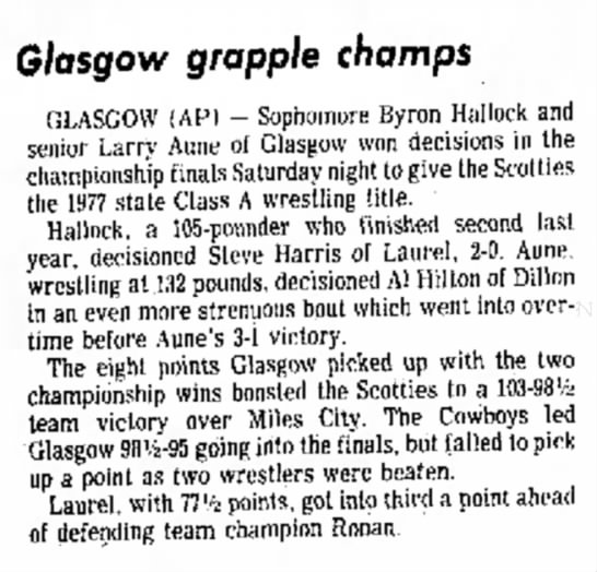 - Glasgow grapple champs GLASGOW ( A P ) -...