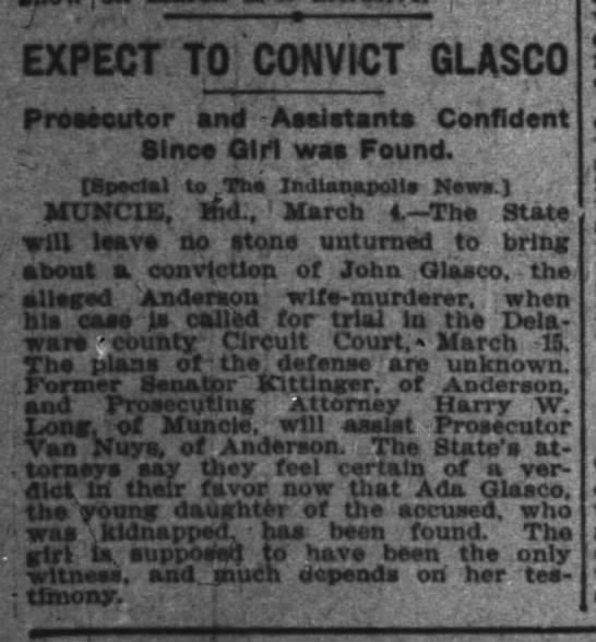 expect to convict - r ,. EXPECT TO 'CONVICT GLASCO Prcsecutor and...
