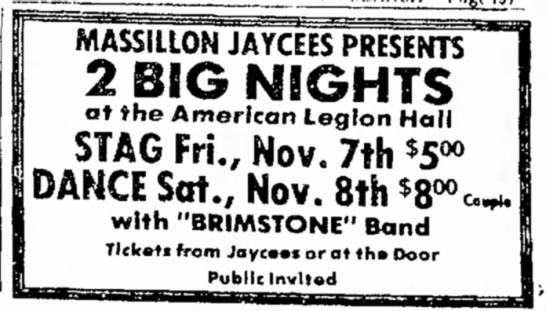 Massillon Evening Independent November 1 1975 - 1 ' ==gg=ai i 1 I-I ,- ,, MASSILLON JAYCEES...