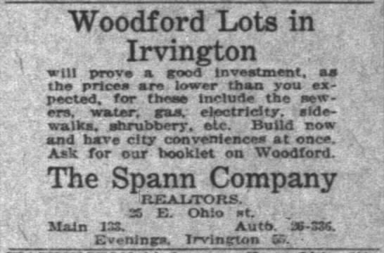 - Woodford Lots in Irvington : will prove a good...