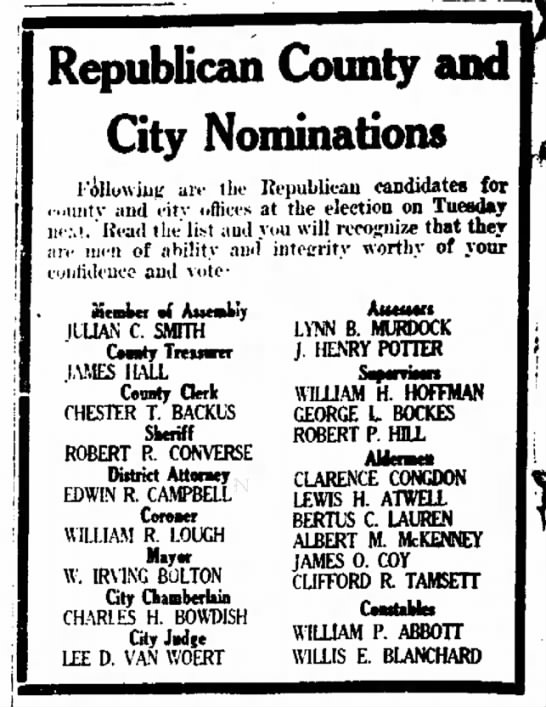 Willis E. Blanchard