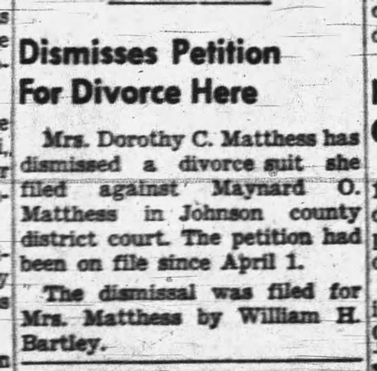 - aup-j I eocm-i Dismisses Petition For Divorce...