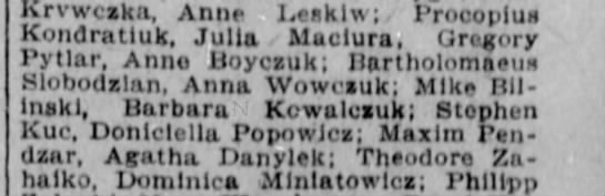 Weddings During March 1910 in Winnipeg