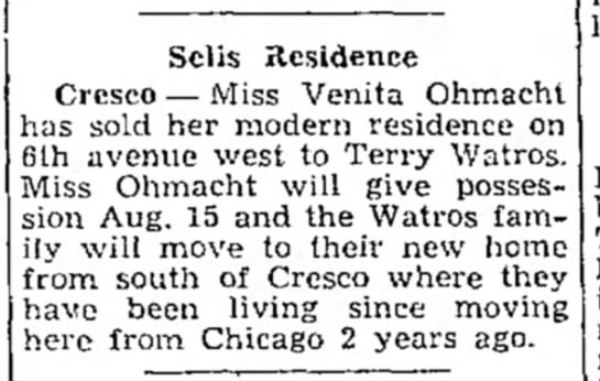 Selis Residence  - Sells Residence Crcsco — Miss Venita Ohmach'...