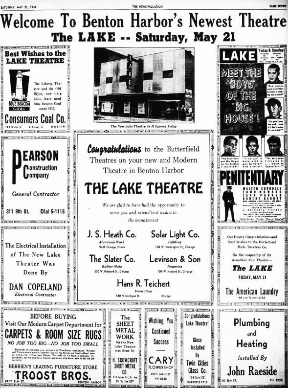 Lake theatre opening