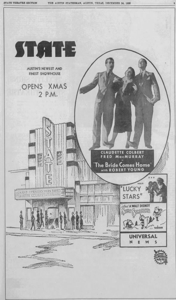 State theatre opening