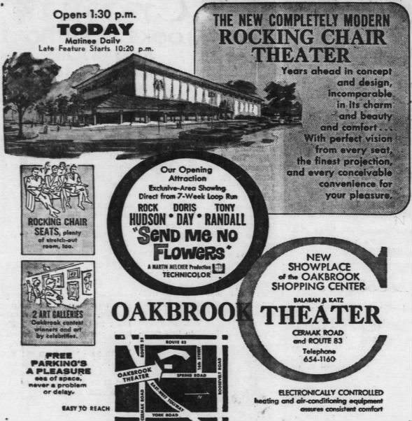 Oak Brook theatre opening