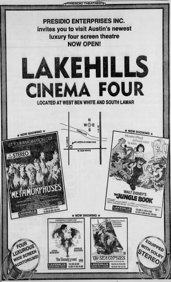 Lakehills Cinema Four opening