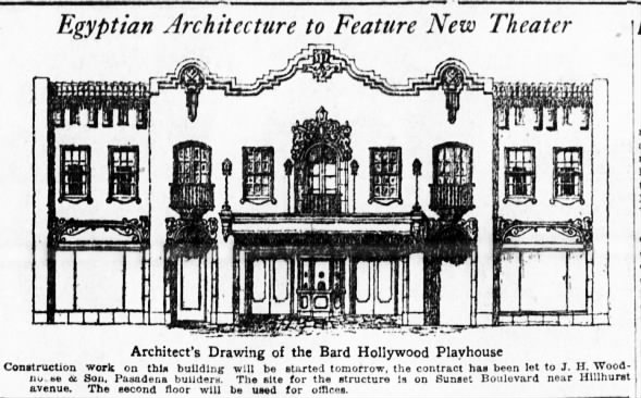 Bard's Hollywood theatre plan
