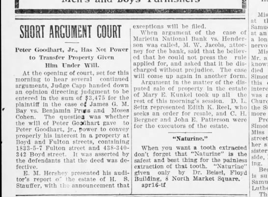 1906 May 2 Hbg Telegraph