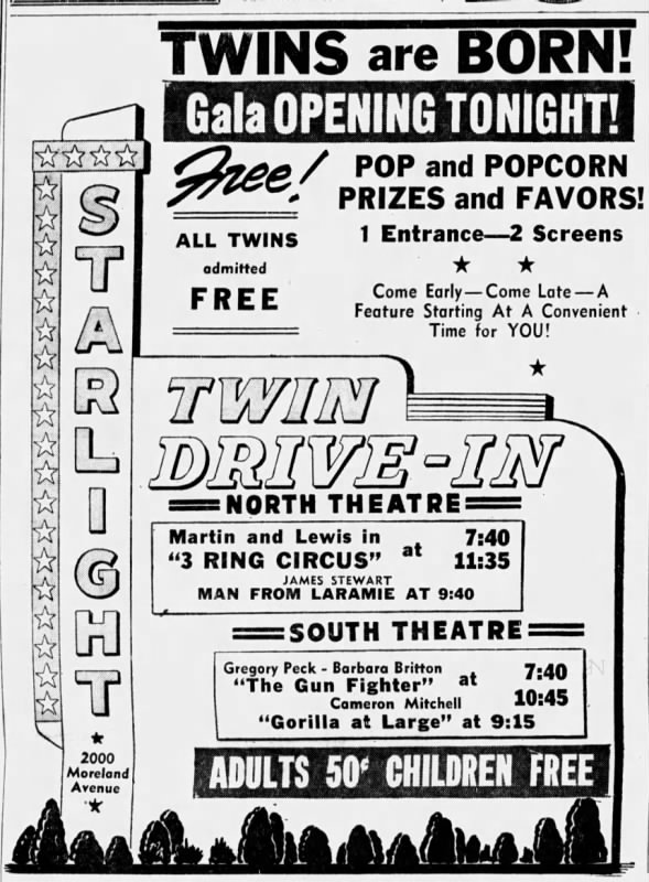 Starlight Drive-In opening