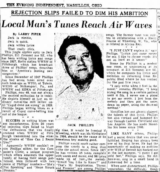 Harry Fousse July 12, 1948