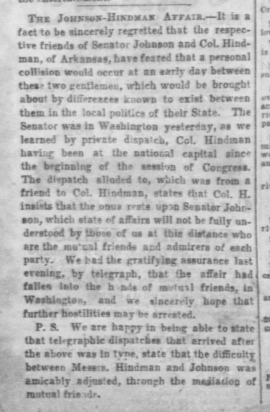 Memphis Daily Appeal Memphis, TennesseeFriday, December 23, 1859 p3