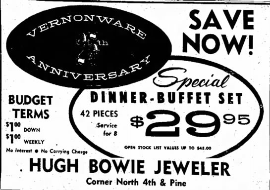Dinner-Buffet Set