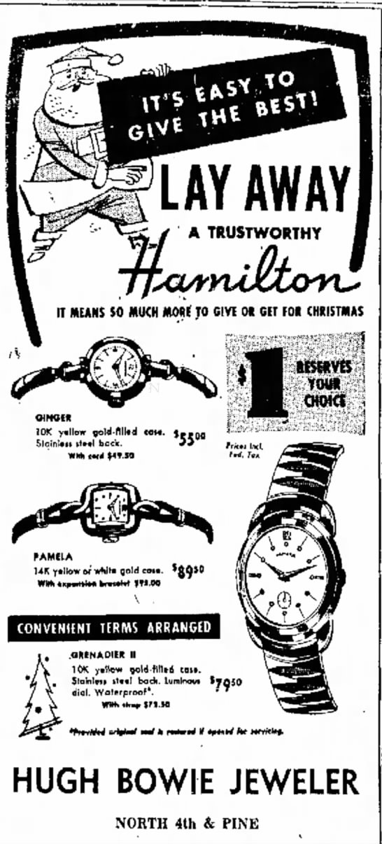 Hamilto Watch 