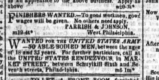 parrish and johnson  mar 22 1839 Public Ledger Penn - - if Apply aa aHOVO ' i;0.3i frr; WP iMBHERB...