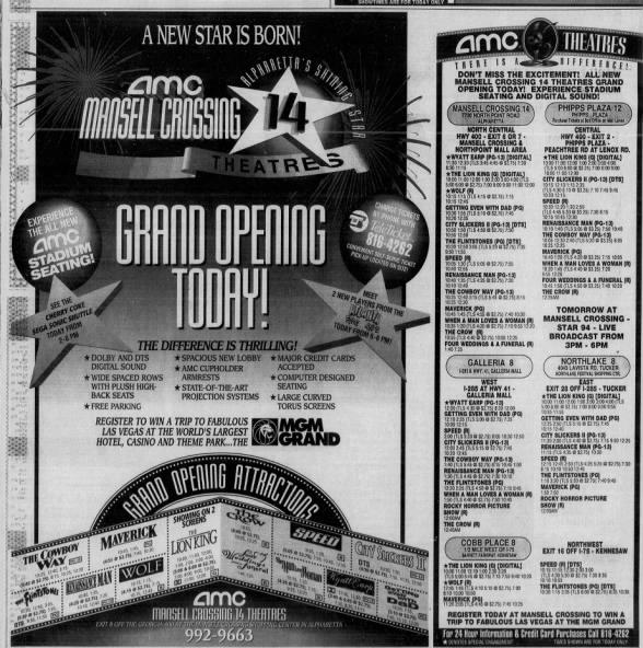 AMC Mansell Crossings 14 opening