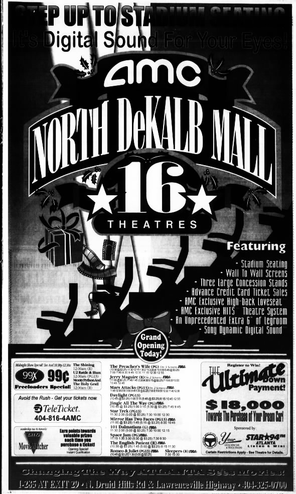 North DeKalb Mall 16 opening