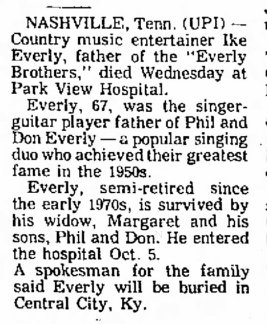 Simpson's Leader-Times, Kittanning, PA, Thurs, 23 Oct 1975, pg. 14, col. 7