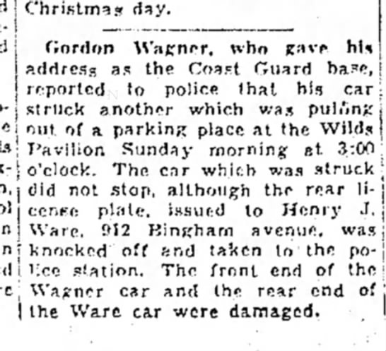 the evening news_sault ste. marie, mi_26Dec1939_pg3 - j Christmas day. flnrdon Wanner, who address as...