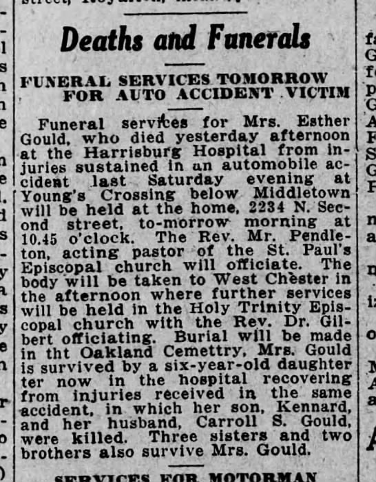 - Deaths and Funerals FUNERAIi SERVICES TOMORROW...