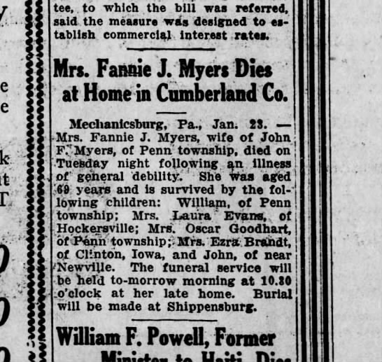 1920 January 23 Hbg Telegraph