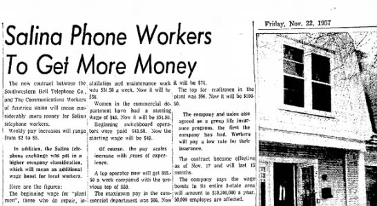 Operators - So/ina Phone Workers To Get More Money...