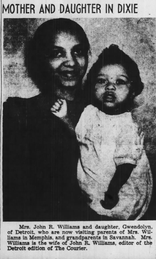 Pittsburg Courier, May 30, 1942 - MOTHER AND DAUGHTER IN DIXIE m I 1 II II I I i...