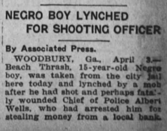 4 Apr 1924 Albert Wells