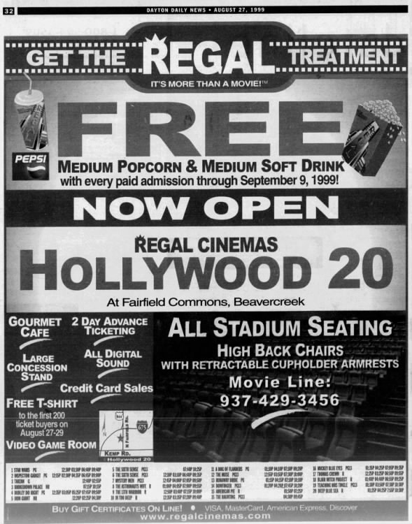Hollywood 20 opening
