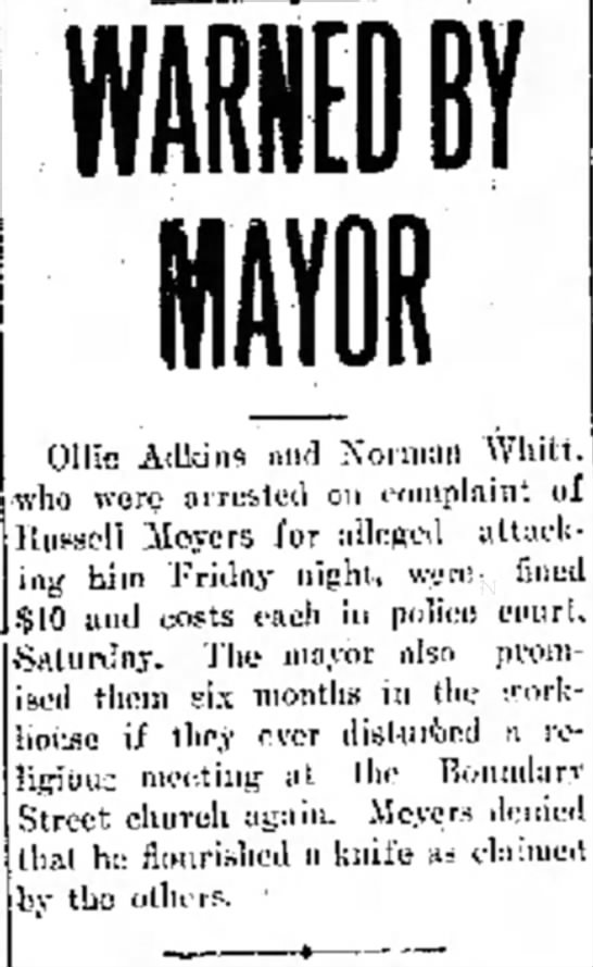 Portsmouth Daily Times, 16 October 1915, Page 8, Ollie Adkins - Judge a* payments sec Ollie Adkins and Xorniun...