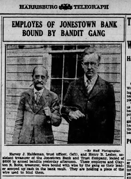 1931 April 3 Harrisburg Telegraph pg. 6 - HARRISBURG JJ TELEGRAPH EMPLOYES OF BOUND BY w...
