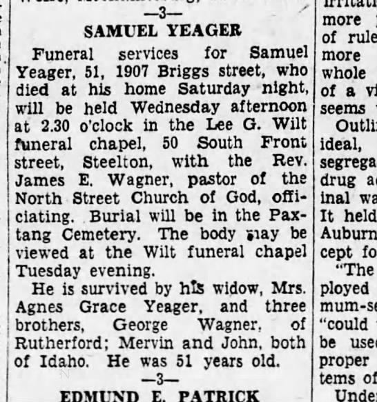 1931 July 27 Harrisburg Telegraph