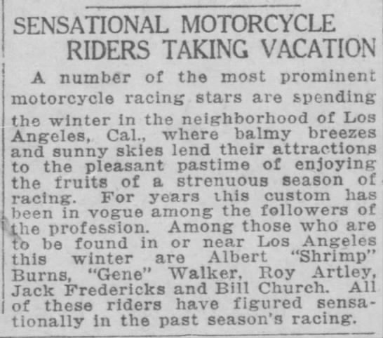 El Paso Herald -22-1921 - . ^. A number of the most prominent motorcycle...