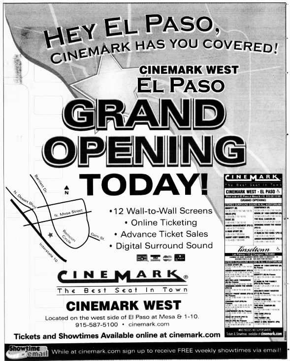 Cinemark West opening