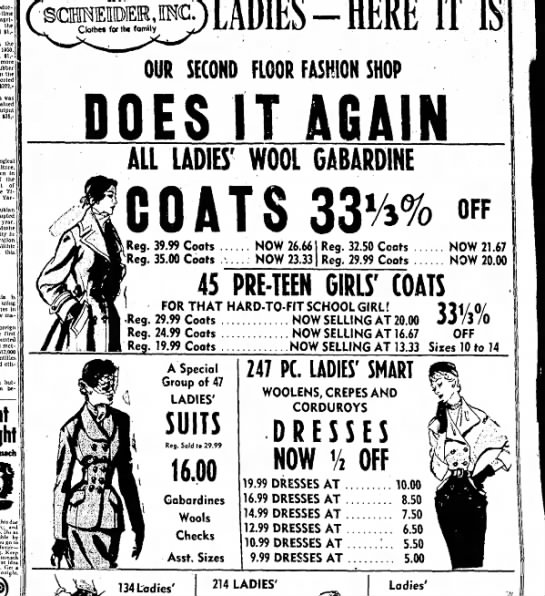 What did it cost to dress yourself? And what did people wear? - agricultural the II,- the 1930 IV more rubber...