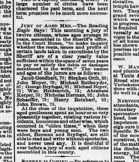 1872 February 12 Hbg Telegraph