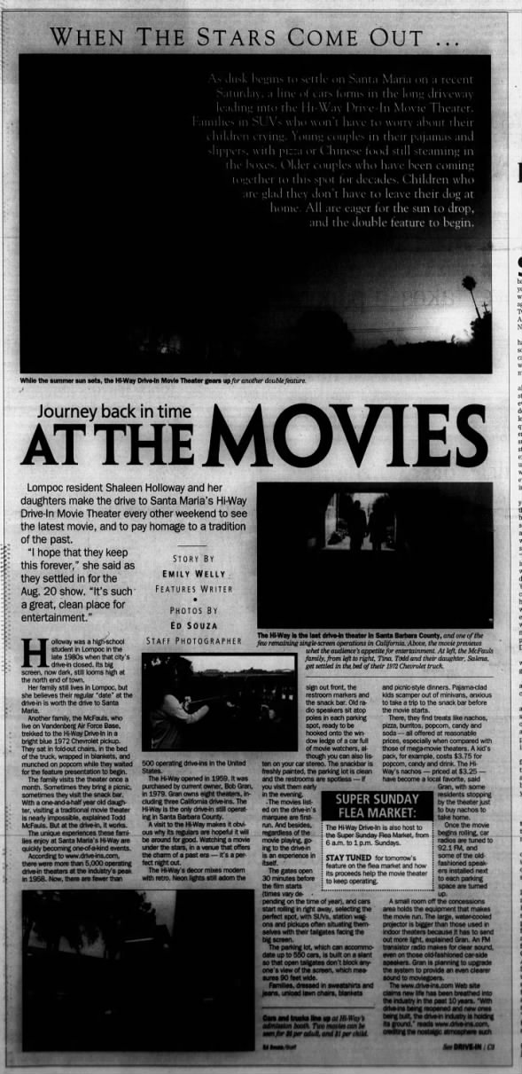 Hi-Way Drive-In 2005 article