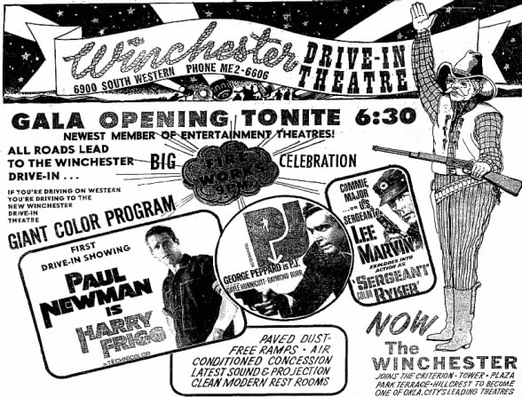Winchester Drive-In opening