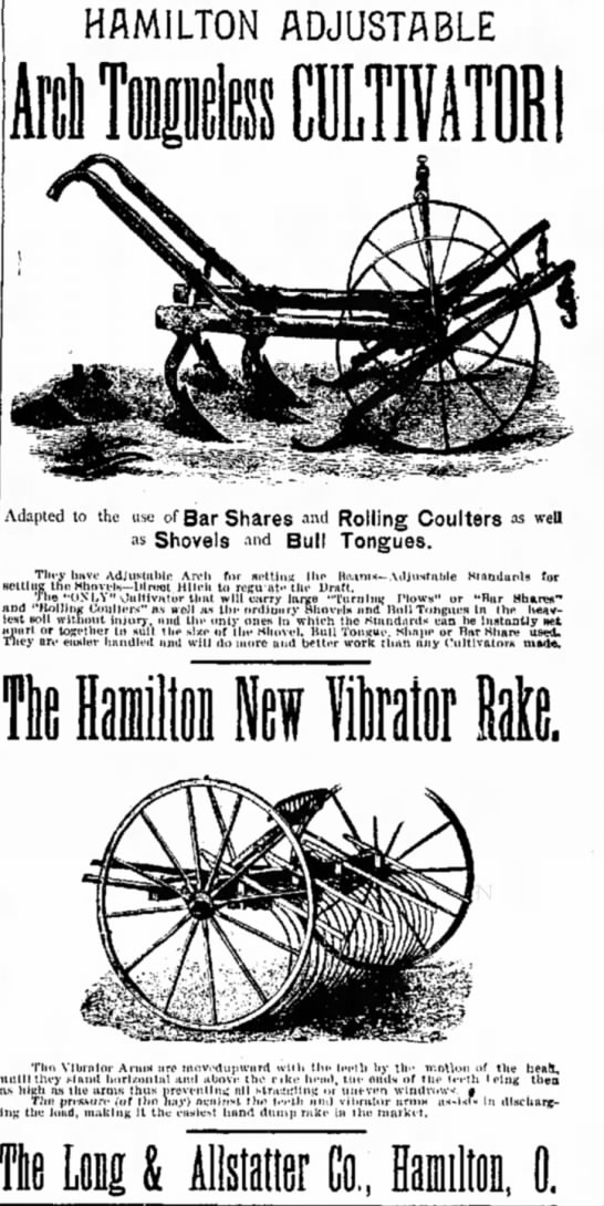Long Allstattrr Co Ad Oct 7 1892